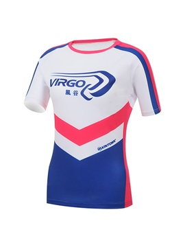 Multi-Color Basic Short-Sleeve Cycle Jersey