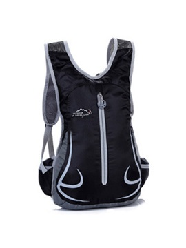 Vertical Zipper Pocket Style 12L Cycling Backpack