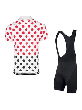 Chic Printing Men's Bike Jersey & Bib Shorts