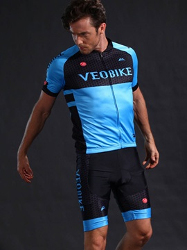 High Elastic Quick Drying Short Sleeve Cycling Suit