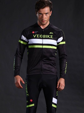 Quick Drying Snug-Fitting High Density Men Cycling Outfit