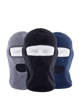 Windproof Fleece Thermal Pure Color Ski Cycling Mask