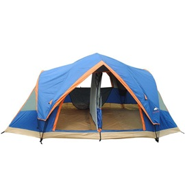 5-8 Person 2 Room Camping Pop-up Tent