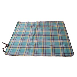 PVC Waterproof Blue Grid Picnic Outdoor Pad