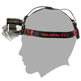 3 Modes LED Battery Charged Headlamp Hiking Outdoor Light