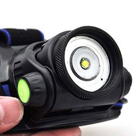 4 Modes Led Battery Charged Camping Outdoor Helmet Light