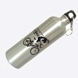 750 ML Printed Pattern Sports Water Bottle