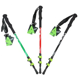 Aluminum Ultralight Anti-Shock Adjustable Height Trekking Poles
