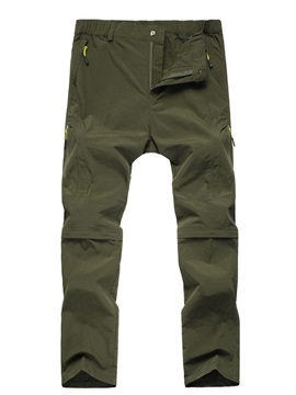 Abrasion-resistant Quick Drying Zip-Off Pant
