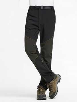 Polyester Soft Shell Men's Outdoor Ski Pant