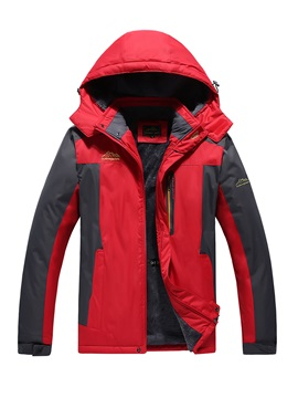 Climbing Windproof Patchwork Male Single Tops