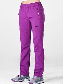 Camping Windproof Letter Long Pants for Women