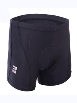 Solid Color Men's Padded Cycling Shorts