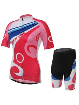 Polyester Women Summer Cycling Outfit