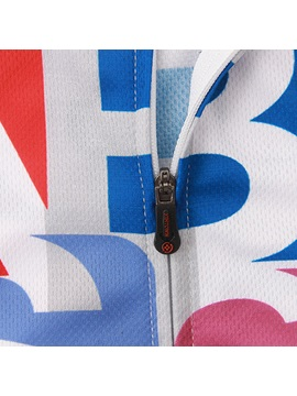 Form-Fitting Front-Zipper Cycling Outfit