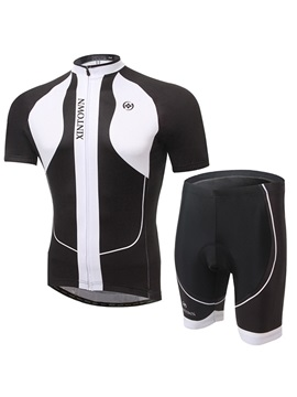 Multi-Color Short-Sleeve Cycling Outfit