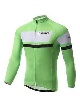 Long-Sleeve Cycling Jersey And Bib Tights