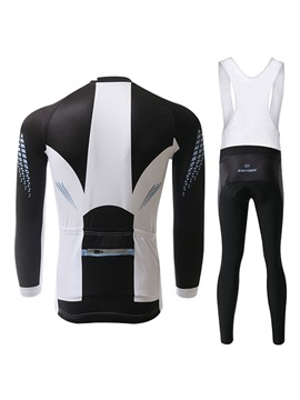 Polyester Fleece Winter Men's Cycling Outfit