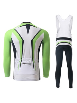 Color-Block Cycle Jersey And Bib Tights