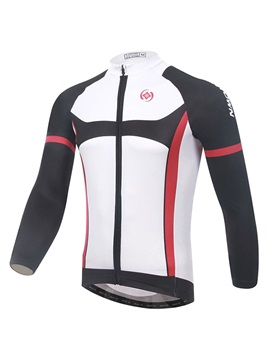 Contrasting-Trim Full-Zip Cycle Jersey And Bib Tights
