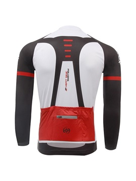 Polyester Raglan Sleeve Men's Cycle Jersey