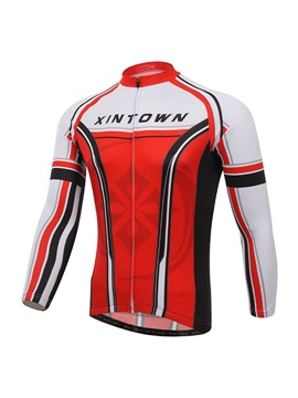 Long-Sleeve Rear Pockets Cycle Jersey