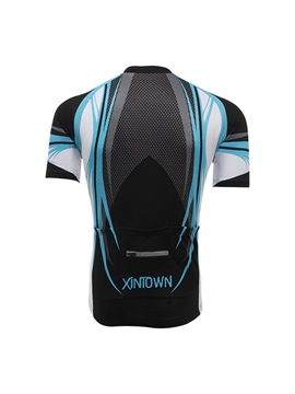 Polyester Mesh Fabric Men's Cycle Jersey