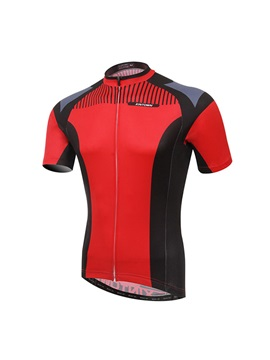 Streamlined Fit Full-Zip Men's Cycle Jersey