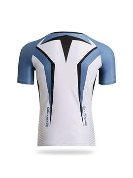 Spandex Raglan Sleeve Men's Cycle Jersey