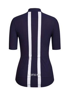 Polyester Center-Front Zip Cycle Jersey And Shorts