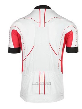 Color Block Full-Zip Men's Bike Jersey