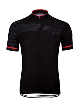 Polyester Rear Pockets Men's Cycle Jersey