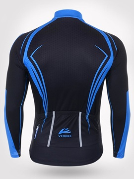 Snug-fitting Breathable Long-Sleeve Bike Jersey
