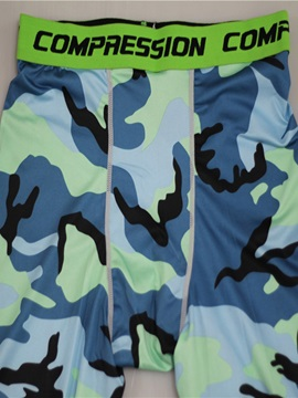 Camouflage Breathable Men's Sports Pants