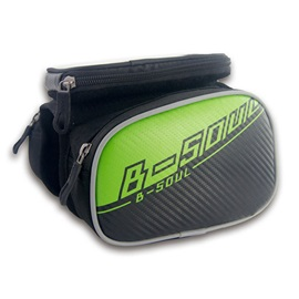 PVC Outdoor Bike Front Tube Cell Phone Bag with Touch Screen