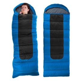 Oversized Adult Envelope Sleeping Bag with Hood