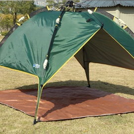 3-4 Person 7.9 mm Fiber Glass Pole Pop-Up Tent