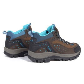 Breathable Mid-Cut Lace-Up Hiking Boots