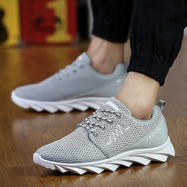 Fashion Round Toe Lace-Up Running Shoes