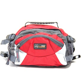 Sports Zipper Nylon Waist Bag