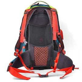 Nylon Waterproof Multi Zipper Pockets Hiking Daypack