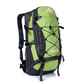 Elastic Rope Binding Hiking Daypack
