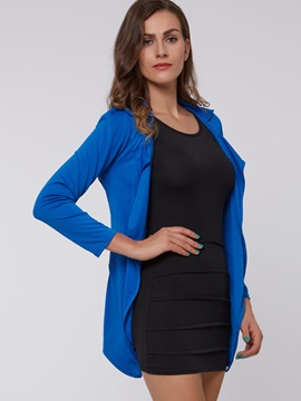 Elegant Open-Front Blazer & Sleeveless Dress