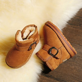 Vogue Faux Fur Slip-On Kid's Snow Boots