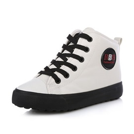 Chic Color Block Lace-Up Kid's Sneakers