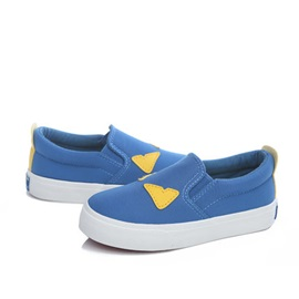 Canvas Slip-On Low-Cut Kids' Sneakers
