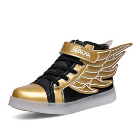 Vogue LED Wing Designed Kid's Sneakers