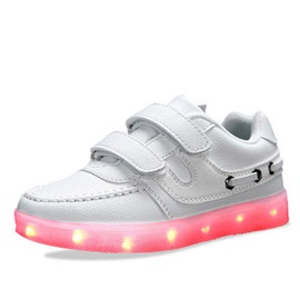 Chic Colored LED Designed Kid's Sneakers