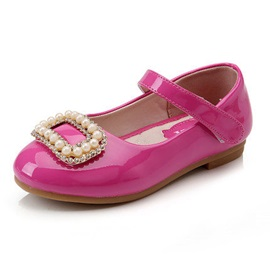 Vogue Pearl Decorated Girl's Flats