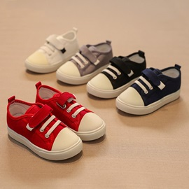 Plain Velcro Kid's Shoes